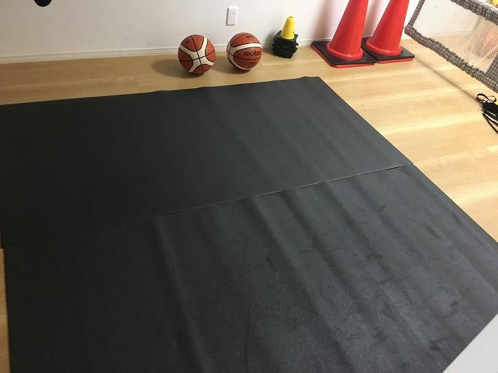 バスケットボール ドリブル 防音マット