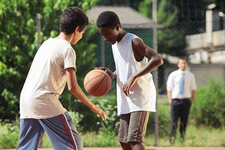 バスケができる子とできない子